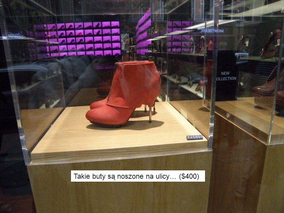 Takie buty są noszone na ulicy… ($400)