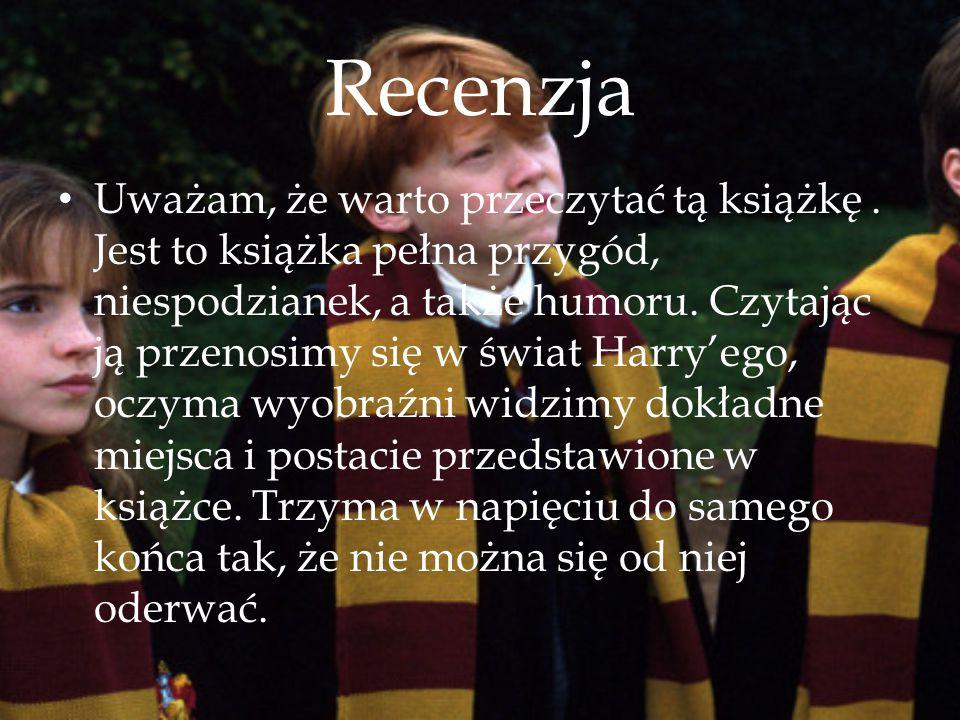 Opis fabuły Harry w swoje 11 urodziny dowiaduje się, że jest czarodziejem i posiada magiczne zdolności.