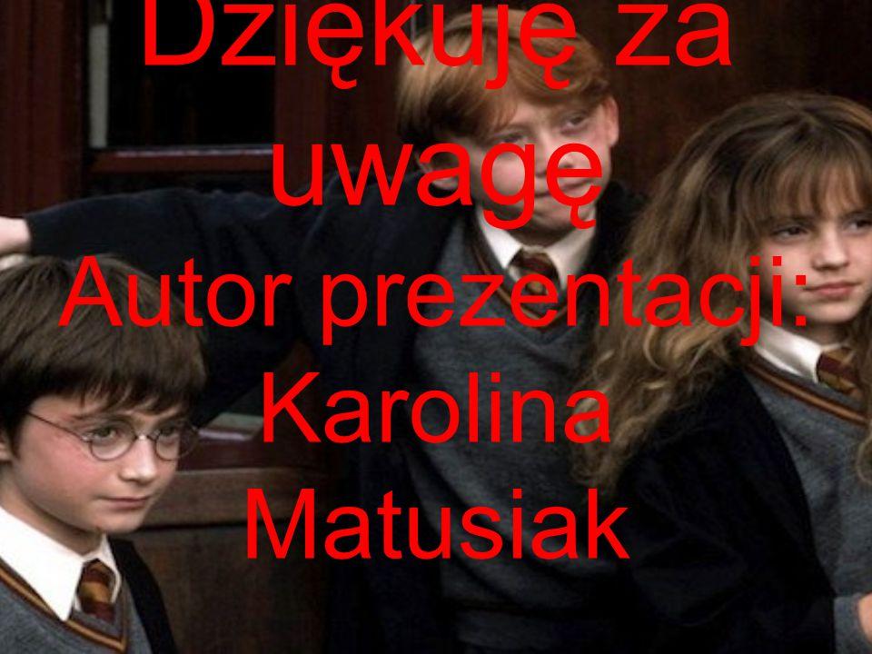 Źródła grafiki i tekstów: http://im-bookworm.blogspot.com/2013http:// www.kotek.pl/kotek/1,87050,15390114,J_K__R owling__Harry_i_Hermiona_powinni_byc_malze nstwem.html/08/harry-potter-i-kamien- filozoficzny-j-k.html http://gexe.pl/ksiazki/art/4240,harry-potter-i- kamien-filozoficzny http://tnttorrent.info/details.php?id=212983 wikipedia