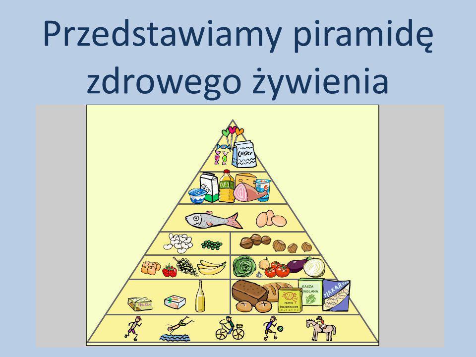 Przedstawiamy piramidę zdrowego żywienia