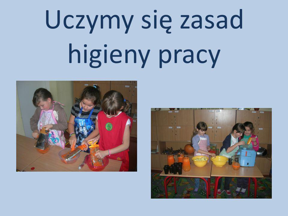 Uczymy się zasad higieny pracy