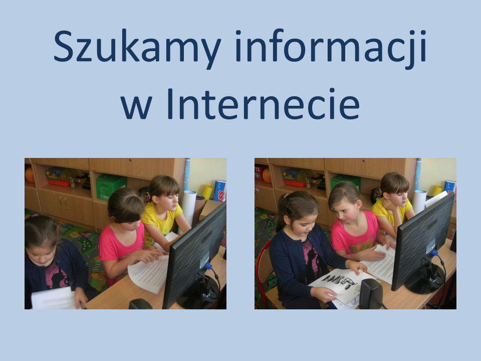 Szukamy informacji w Internecie