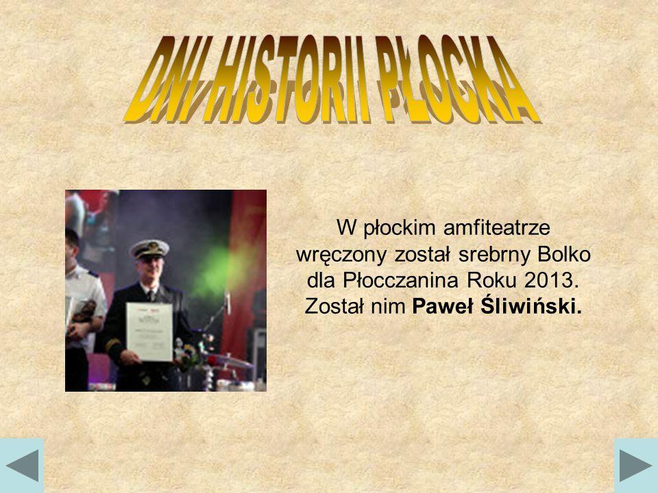 W płockim amfiteatrze wręczony został srebrny Bolko dla Płocczanina Roku 2013.