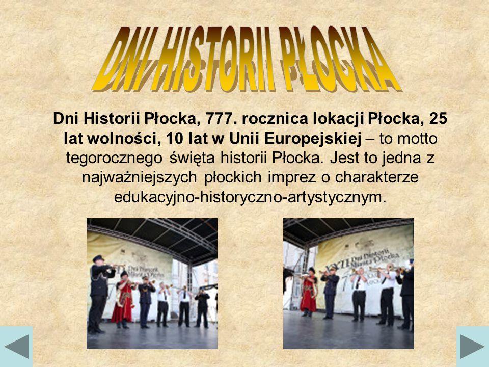 Dni Historii Płocka, 777.