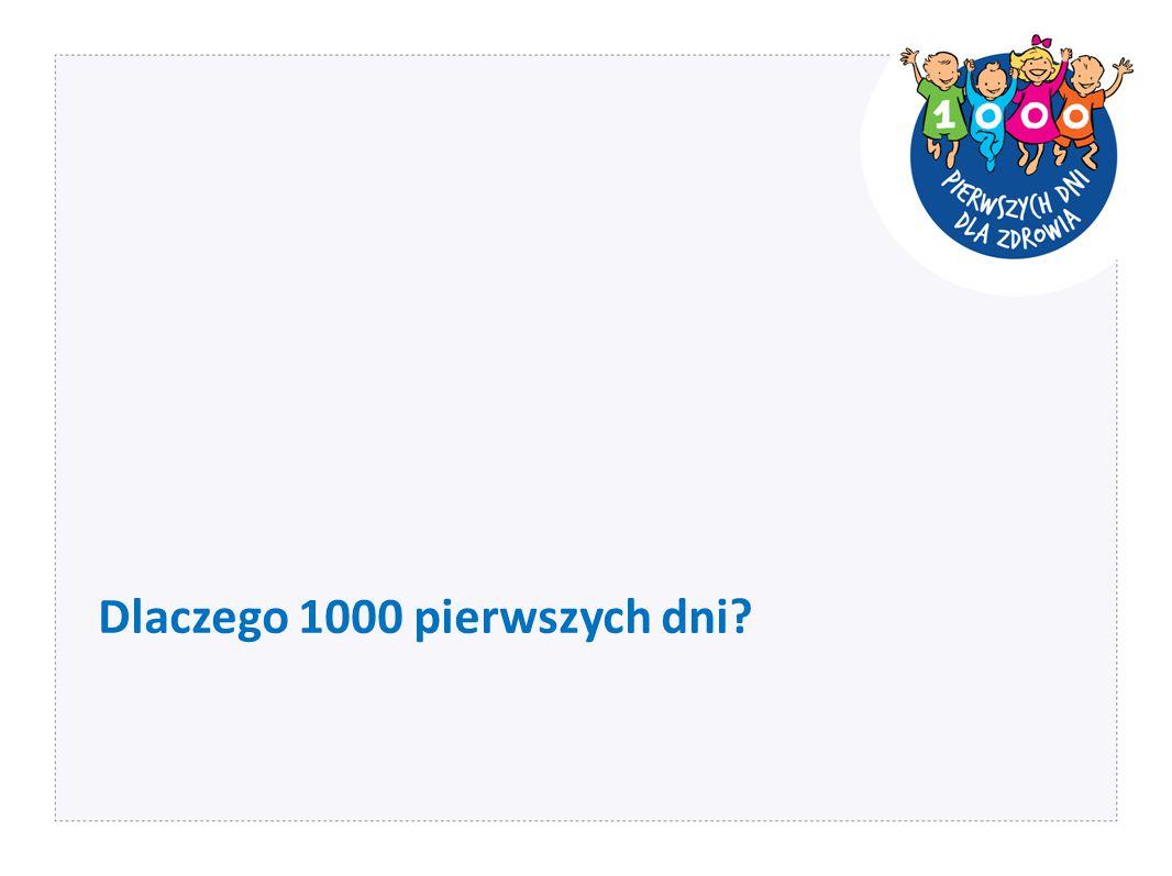 Dlaczego 1000 pierwszych dni?