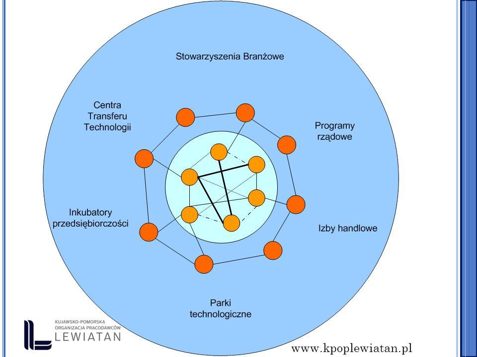 www.kpoplewiatan.pl K RYTERIA FAKULTATYWNE lokalizacja w SSE, parkach technologicz.