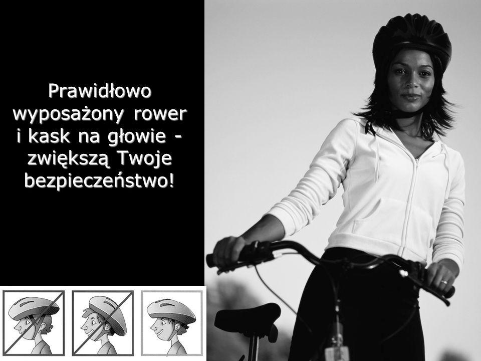 5 Prawidłowo wyposażony rower i kask na głowie - zwiększą Twoje bezpieczeństwo!