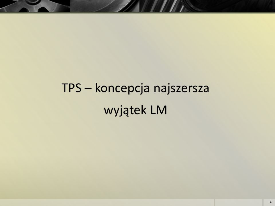 TPS LM 5