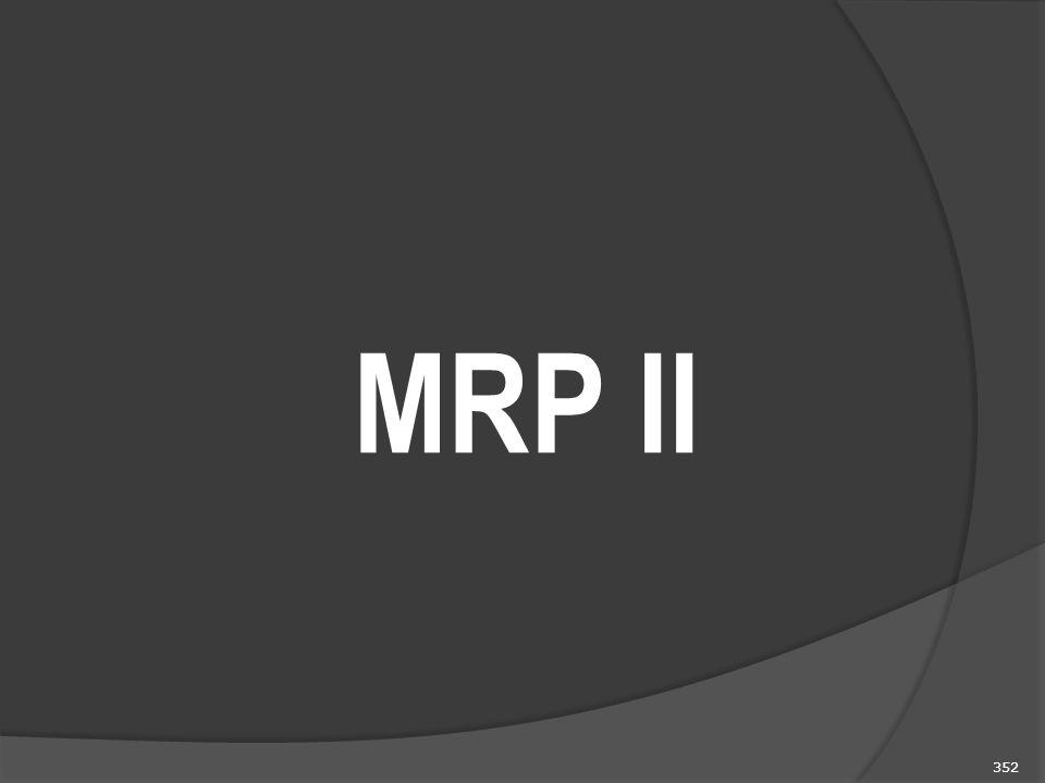 352 MRP II