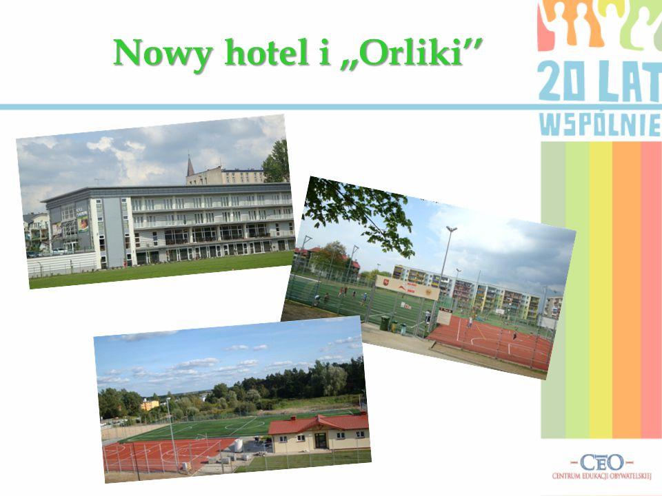 Nowy hotel i,,Orliki''