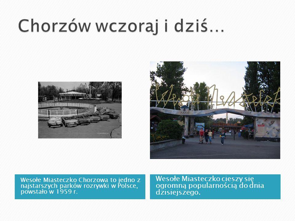 Wesołe Miasteczko Chorzowa to jedno z najstarszych parków rozrywki w Polsce, powstało w 1959 r. Wesołe Miasteczko cieszy się ogromną popularnością do