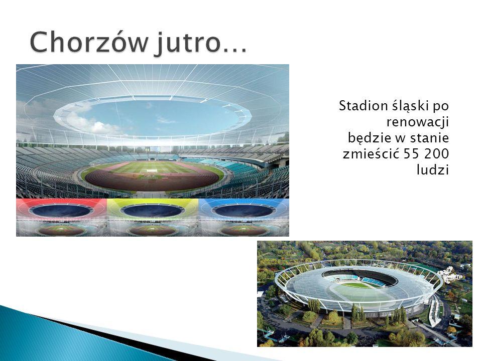 Stadion śląski po renowacji będzie w stanie zmieścić 55 200 ludzi