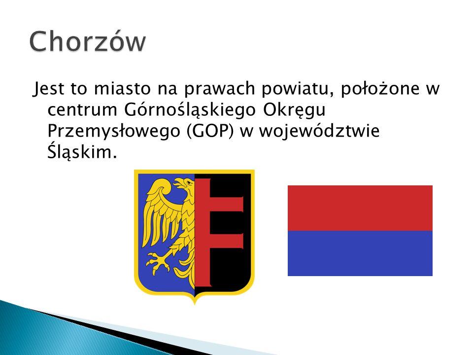 Jest to miasto na prawach powiatu, położone w centrum Górnośląskiego Okręgu Przemysłowego (GOP) w województwie Śląskim.