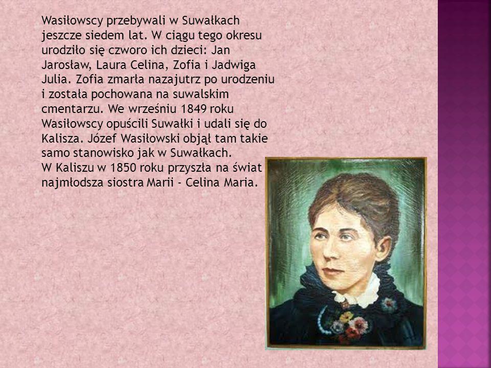 Wasiłowscy przebywali w Suwałkach jeszcze siedem lat.