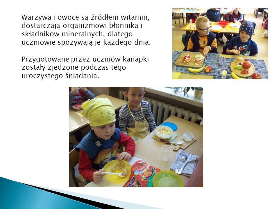 Zostały osiągnięte cele: Uczeń - wie, że odżywiania odgrywa ważną rolę w życiu, zna najważniejsze składniki pożywienia - zna piramidę pokarmową i zasady zdrowego żywienia - zna zasady przestrzegania higieny podczas przygotowywania posiłków