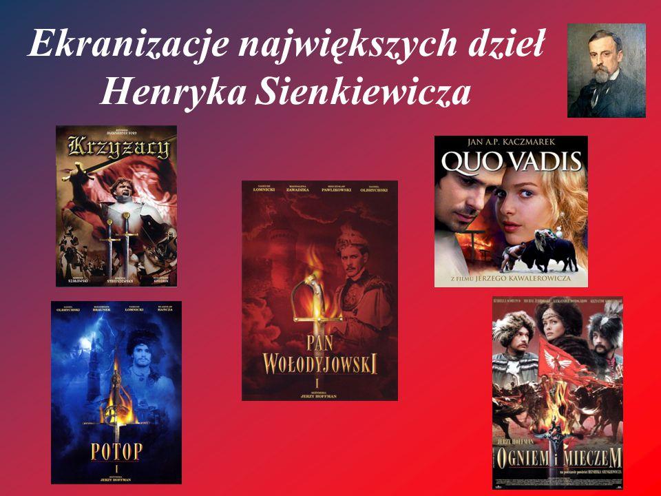 """""""Krzyżacy W 550 rocznicę bitwy pod Grunwaldem, 17 lipca 1960 roku, w Olsztynie odbyła się premiera filmu Krzyżacy, będącego adaptacją powieści Henryka Sienkiewicza."""