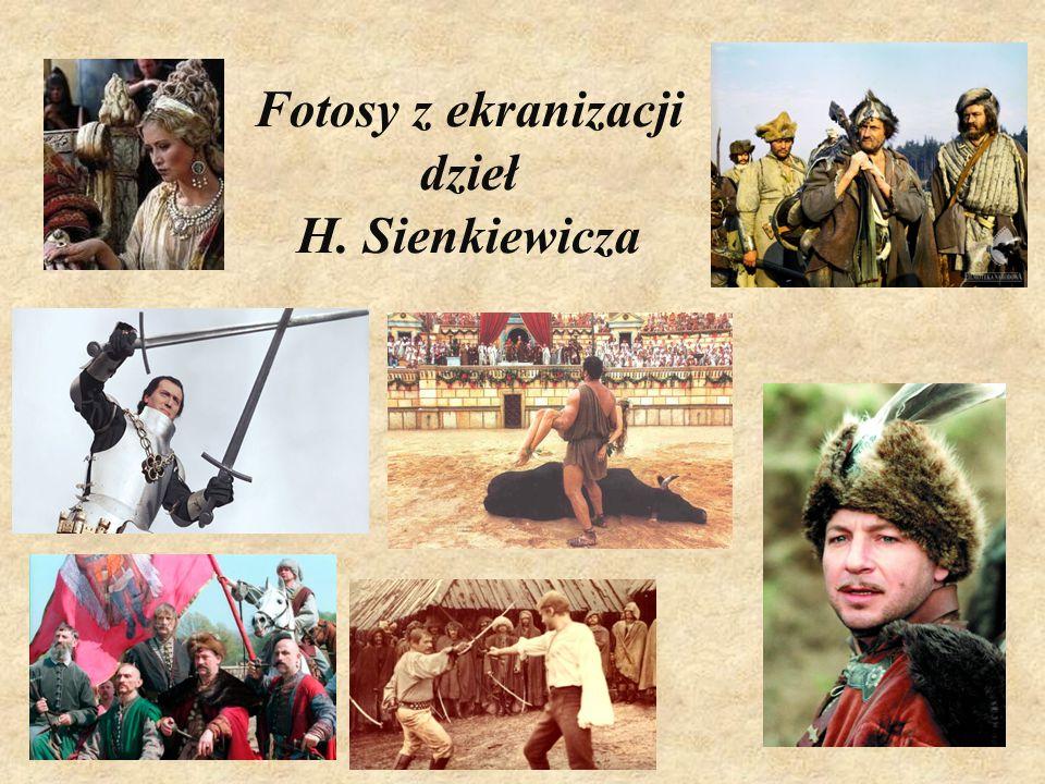 Fotosy z ekranizacji dzieł H. Sienkiewicza