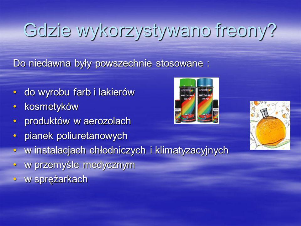 Jak powstaje dziura ozonowa?