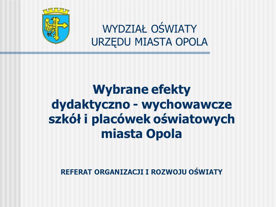 SUKCES POLSKIEJ EDUKACJI Polska zajęła 14 m.na świecie i 5 m.