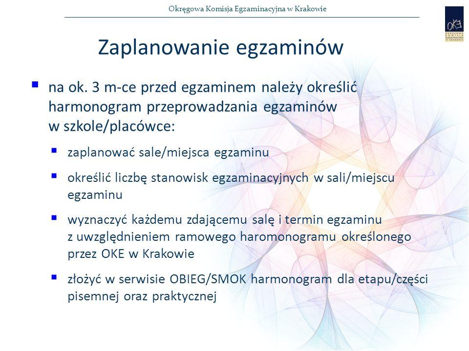 Okręgowa Komisja Egzaminacyjna w Krakowie  na ok.