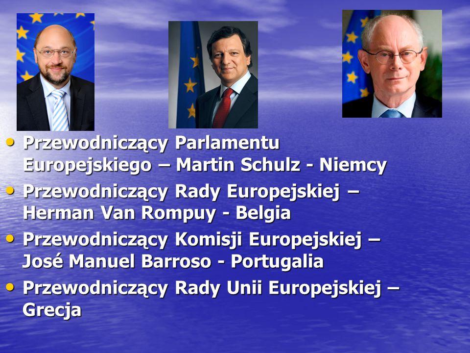 Przewodniczący Parlamentu Europejskiego – Martin Schulz - Niemcy Przewodniczący Parlamentu Europejskiego – Martin Schulz - Niemcy Przewodniczący Rady