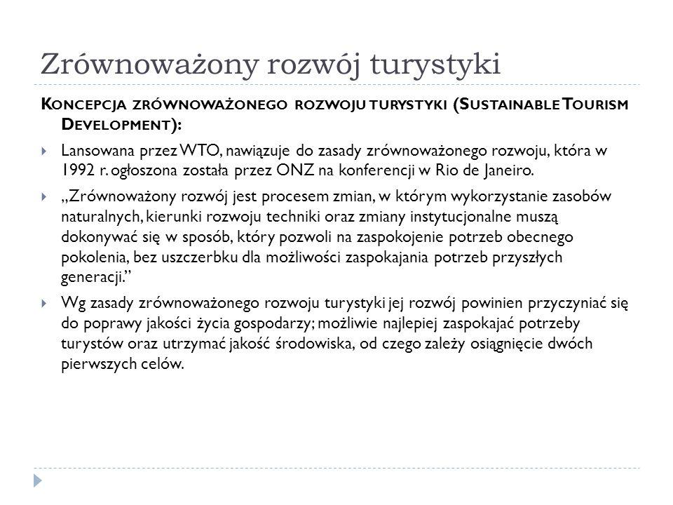 """Funkcja etniczna Obejmuje głównie turystykę zagraniczną, poszukiwanie przez turystów własnych """"korzeni ."""