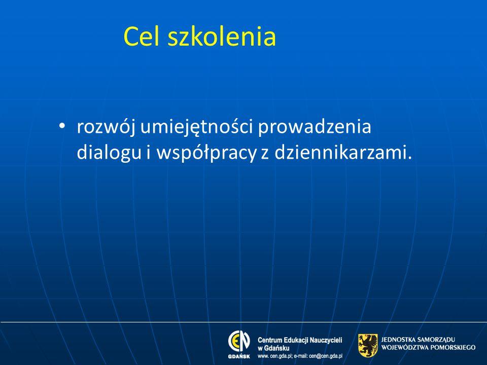 Zasady współpracy z mediami cd.7.