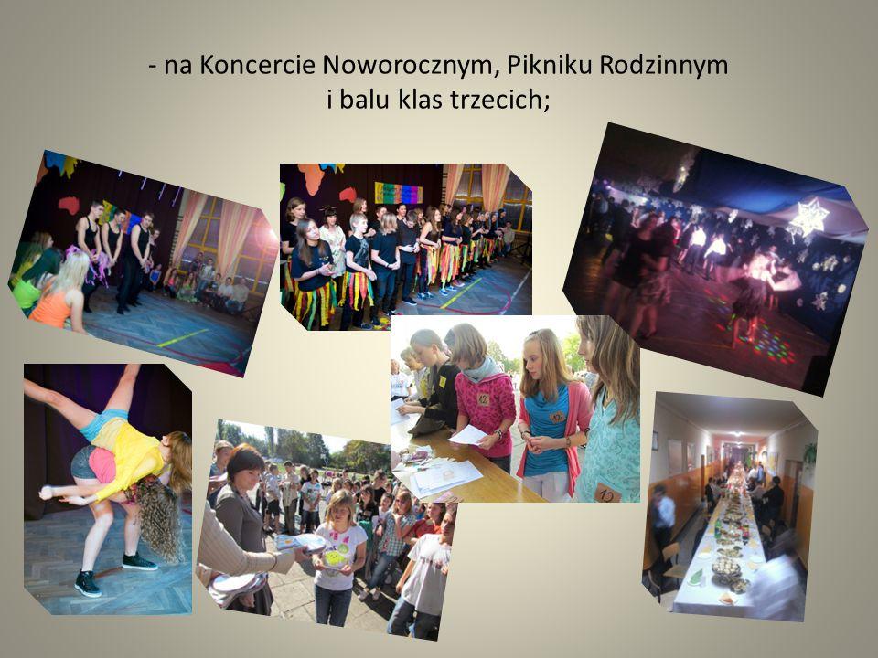 Bawimy się podczas wyjazdów integracyjnych, Europejskiego Dnia Języków i zawodów sportowych;