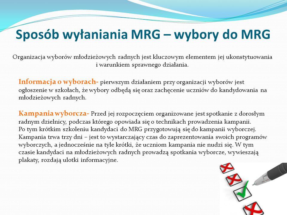 Jak działa MRG.