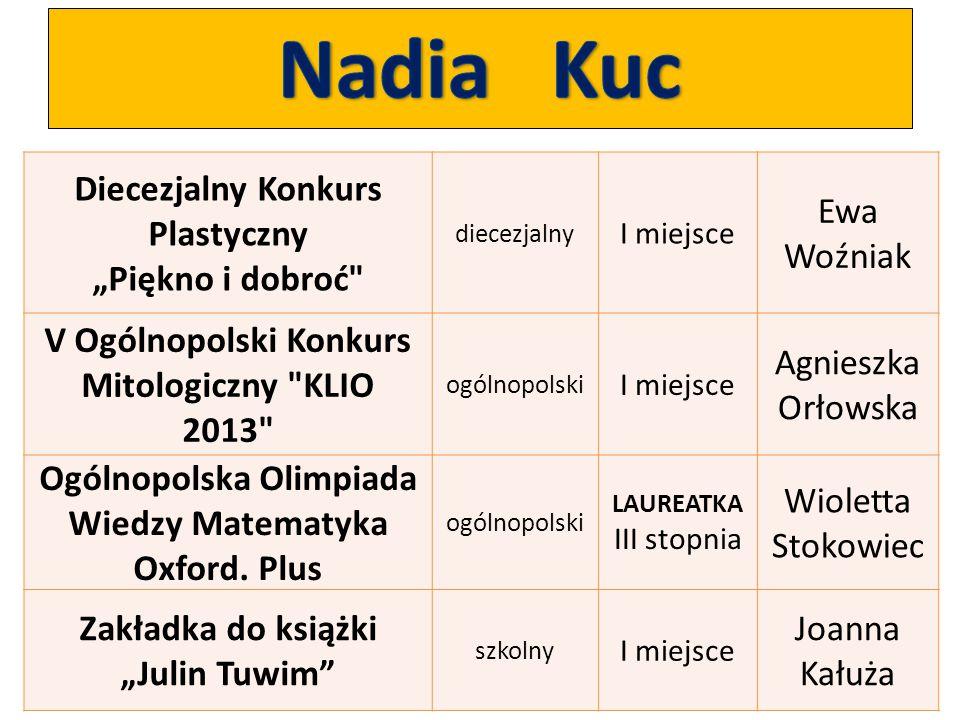 """Diecezjalny Konkurs Plastyczny """"Piękno i dobroć"""