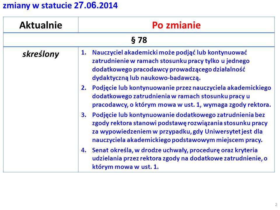 zmiany w statucie 2 7.0 6.2014 AktualniePo zmianie § 85 1.