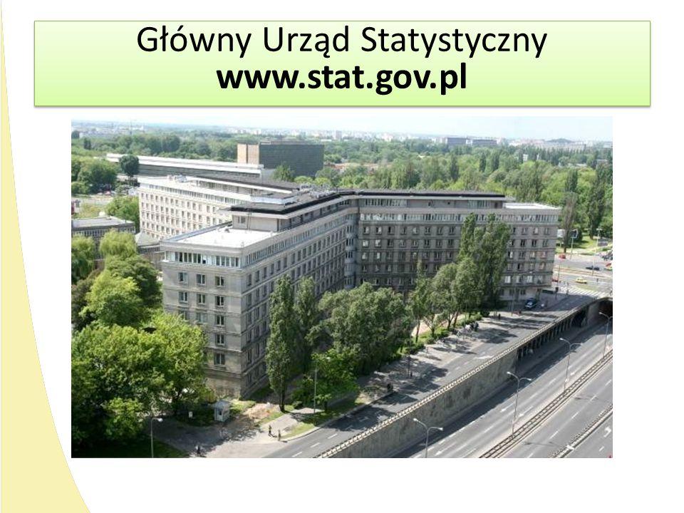 Główny Urząd Statystyczny www.stat.gov.pl Główny Urząd Statystyczny www.stat.gov.pl