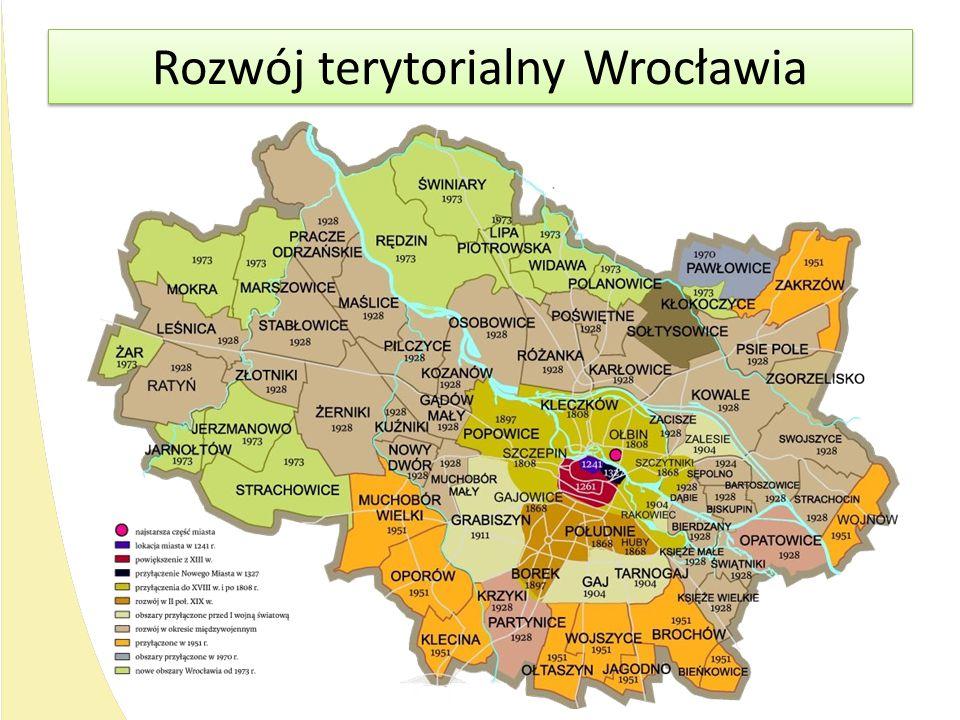 Rozwój terytorialny Wrocławia