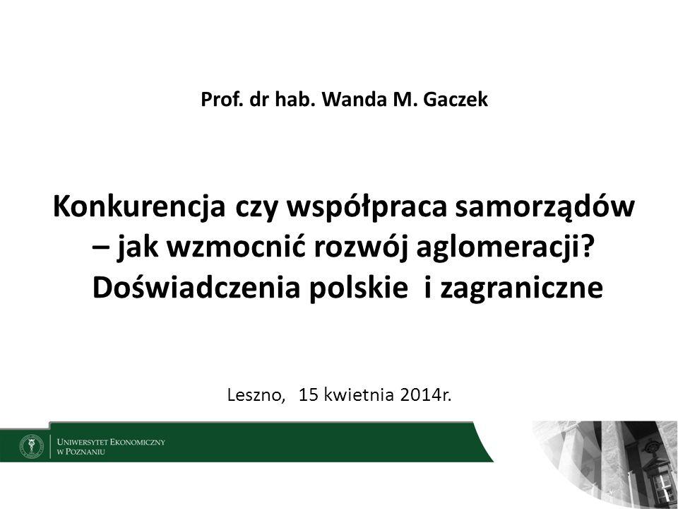 Prof.dr hab. Wanda M.