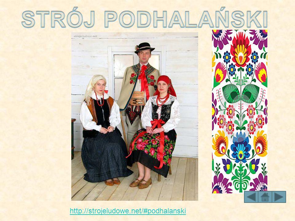 http://strojeludowe.net/#podhalanski