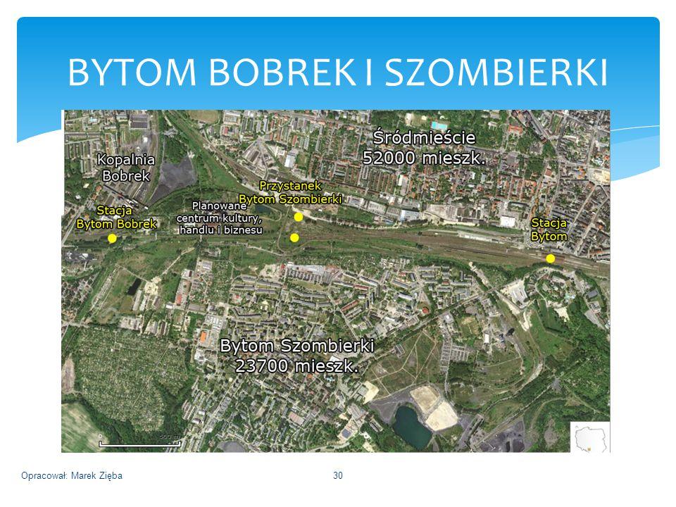 BYTOM BOBREK I SZOMBIERKI Opracował: Marek Zięba30