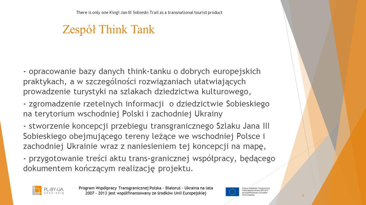 Zespół Think Tank - opracowanie bazy danych think-tanku o dobrych europejskich praktykach, a w szczególności rozwiązaniach ułatwiających prowadzenie t