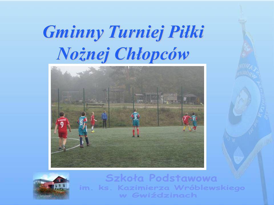 Gminny Turniej Piłki Nożnej Chłopców