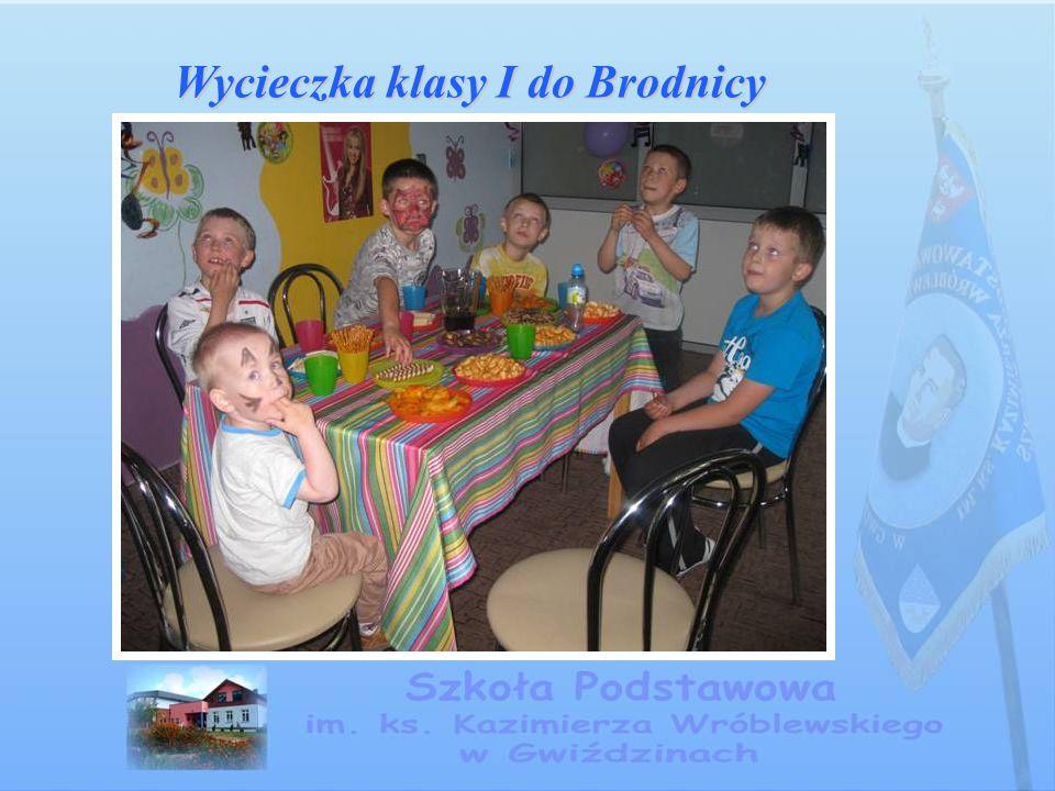 Wycieczka klasy I do Brodnicy