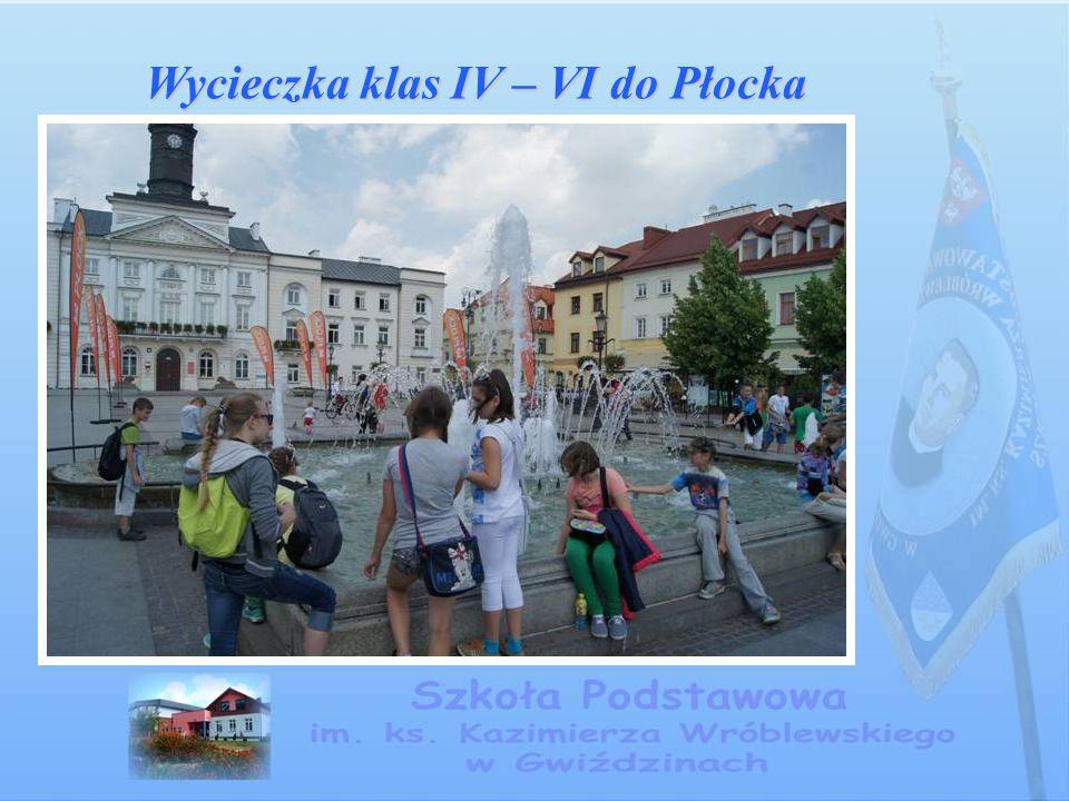 Wycieczka klas IV – VI do Płocka