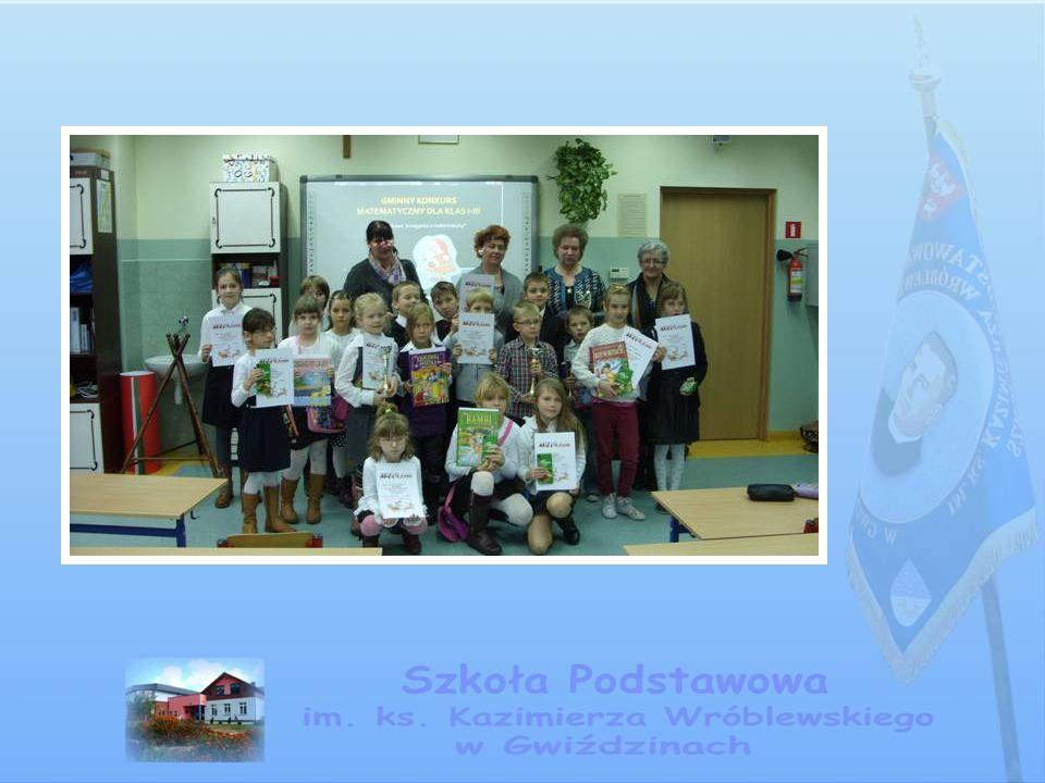 Międzynarodowy Konkurs Kangur Matematyczny W konkursie koordynowanym przez panią Marię Przeradzką wystartowało dziesięcioro uczniów.