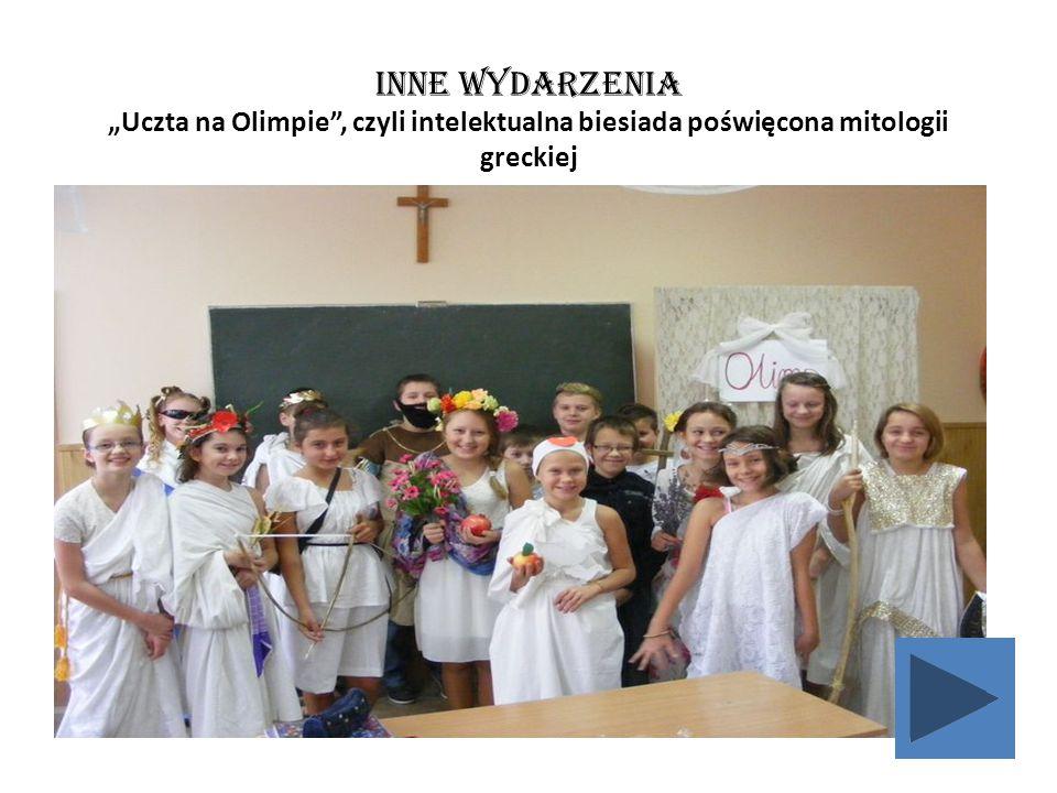 """INNE Wydarzenia """"Uczta na Olimpie , czyli intelektualna biesiada poświęcona mitologii greckiej"""