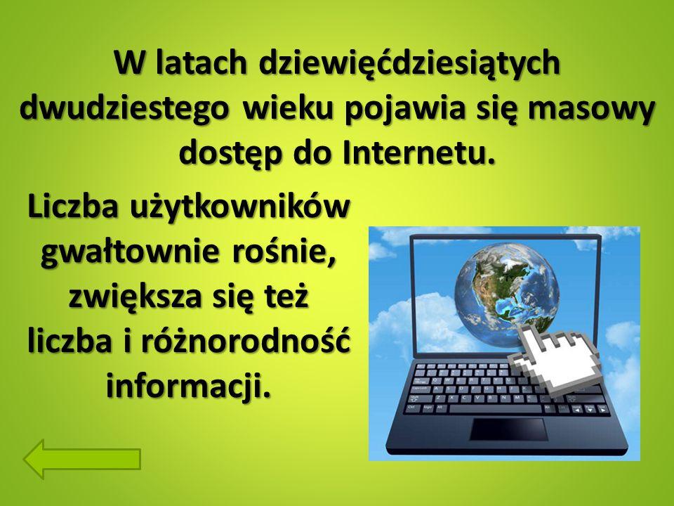 Zagrożenia w internecie Surfowanie w Internecie może być świetną zabawą oraz towarzyską i inspirującą formą spędzania czasu.