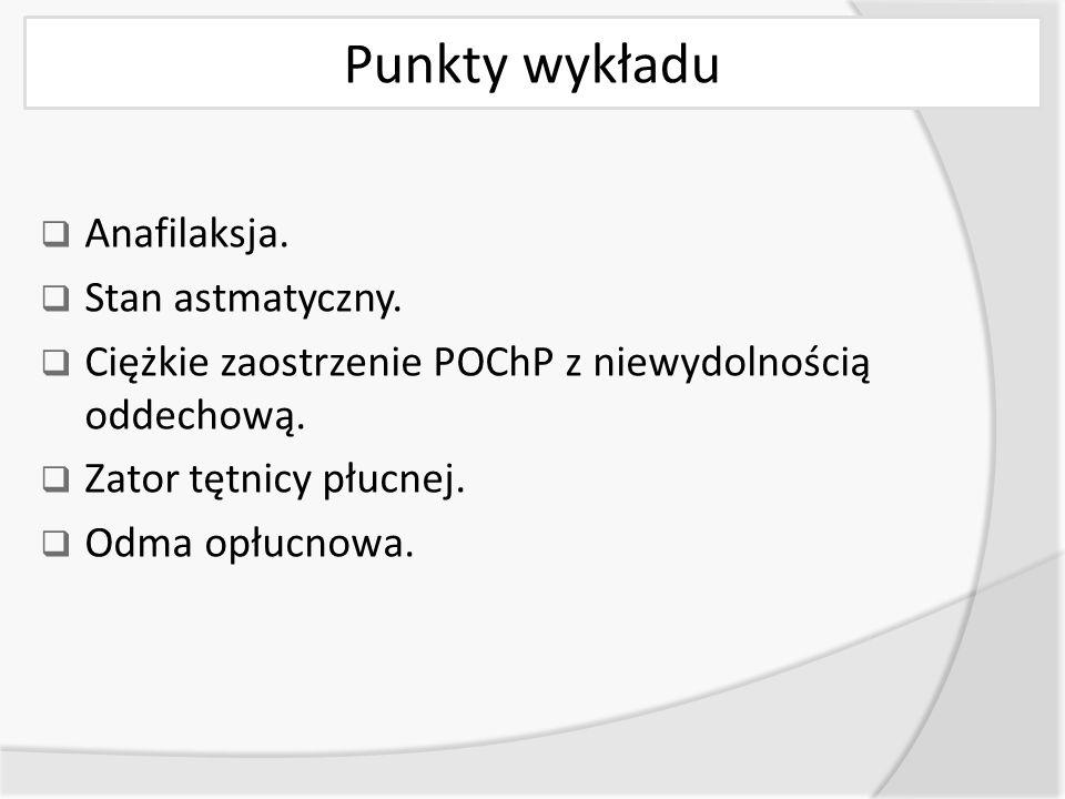 Zator tętnicy płucnej (ZTP)