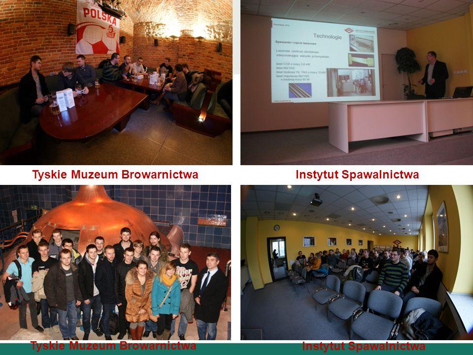 Tyskie Muzeum Browarnictwa Instytut Spawalnictwa