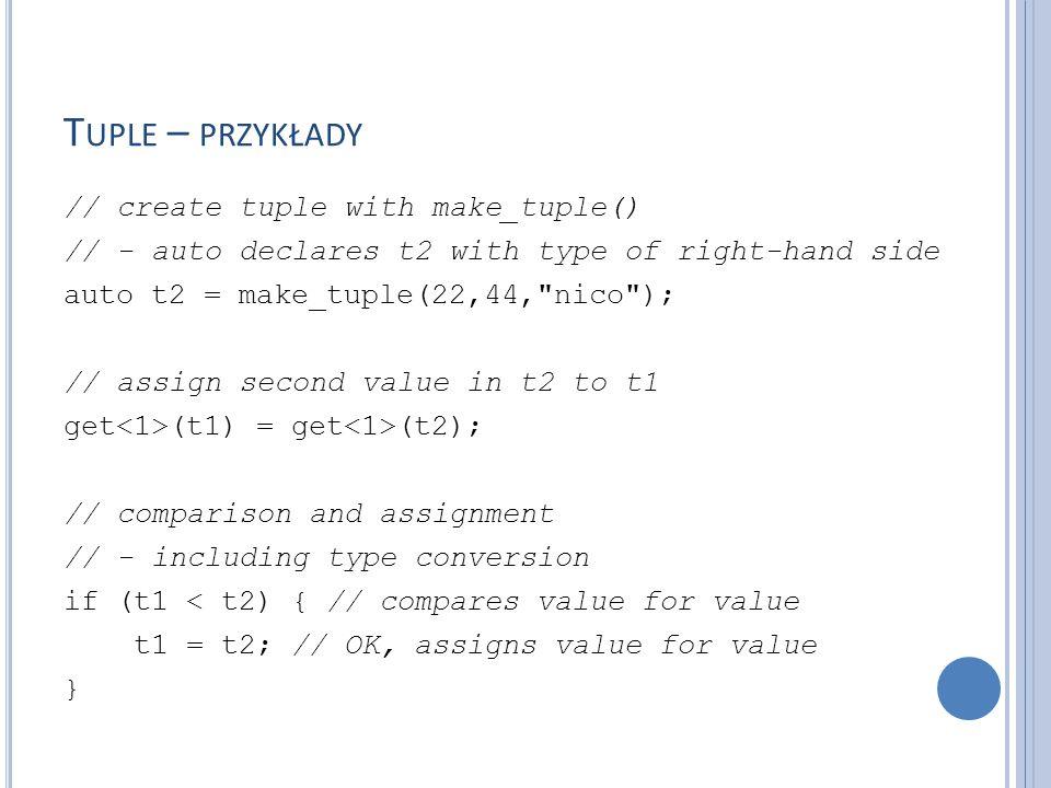 P OMIAR CZASU Biblioteka standardowa wprowadza narzędzia pomocne do pomiaru czasu – są one zdefiniowane w pliku nagłówkowym w przestrzeni nazw std::chrono.