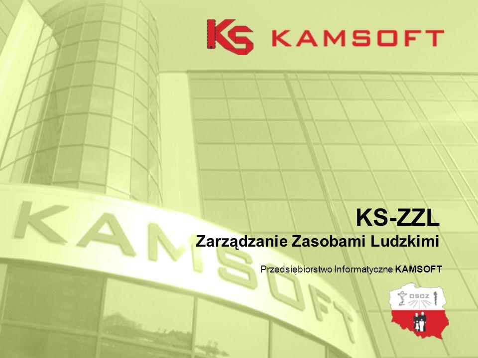 KS-ZZL Zarządzanie Zasobami Ludzkimi Przedsiębiorstwo Informatyczne KAMSOFT