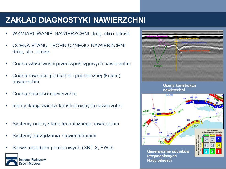 Najnowocześniejsza aparatura badawcza Zaawansowane badania infrastruktury drogowej Innowacyjne metody badań nieniszczących Wykonywanie badań bez zakłócania ruchu Instytut Badawczy Dróg i Mostów 7 PRZYKŁADY PROJEKTÓW SPID – SYSTEM POMIARU INFRASTRUKTURY DROGOWEJ SPID- System Pomiaru Infrastruktury Drogowej