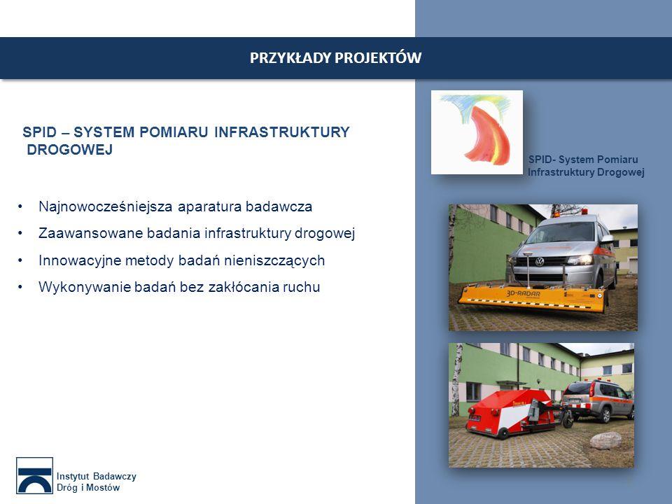 ZAKŁAD EKONOMIKI Instytut Badawczy Dróg i Mostów 8 Wycena kosztów wypadków Wycena infrastruktury drogowej Wycena inwestycji drogowych i mostowych Ewidencja sieci drogowej
