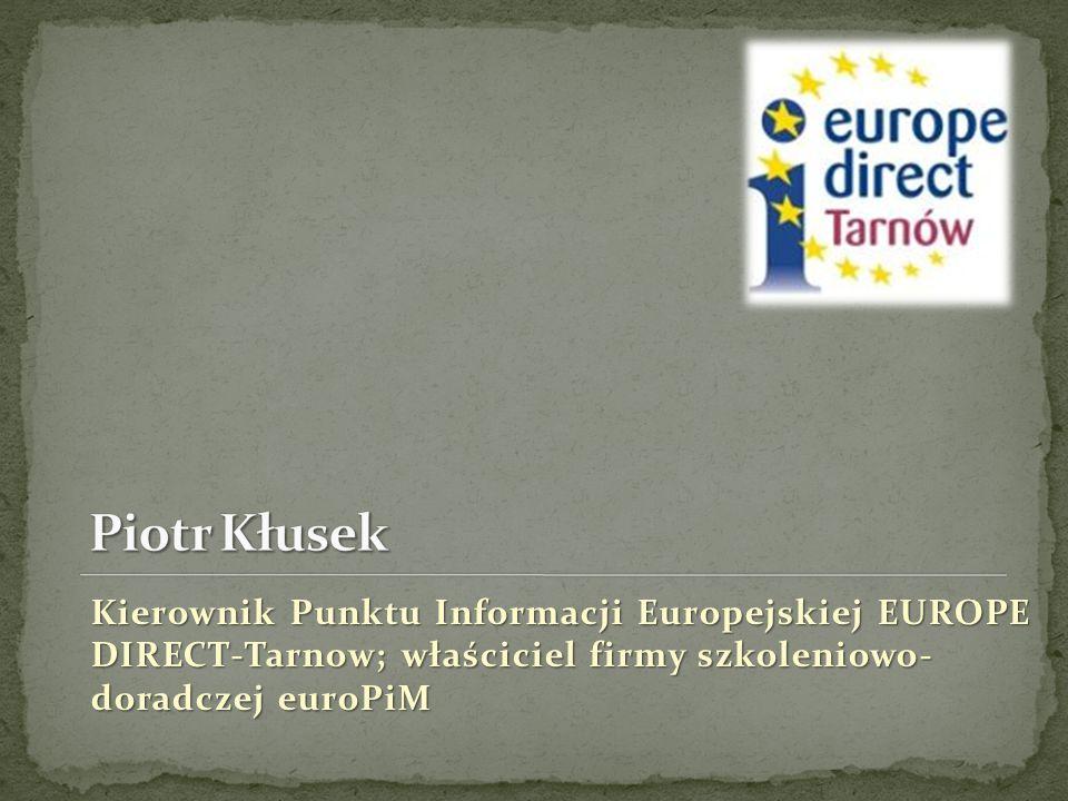 Dyrektor Działu Współpracy z Zagranicą PWSZ w Tarnowie